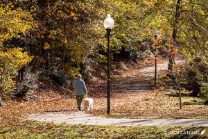 Chastain Park Neighborhood; Photo Credit: Atlanta Trails