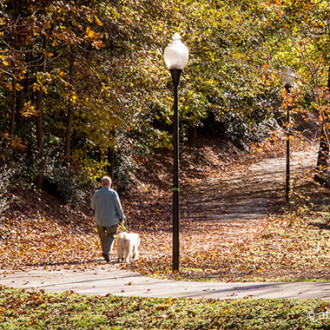 Chastain Park Neighborhood; Photo Credit: Atlanta Trails