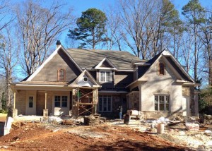 Randall Brothers provided the exterior trim, doors, windows and more for our current custom home project in Brookhaven.