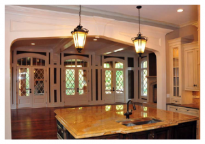 Buckhead Tudor kitchen
