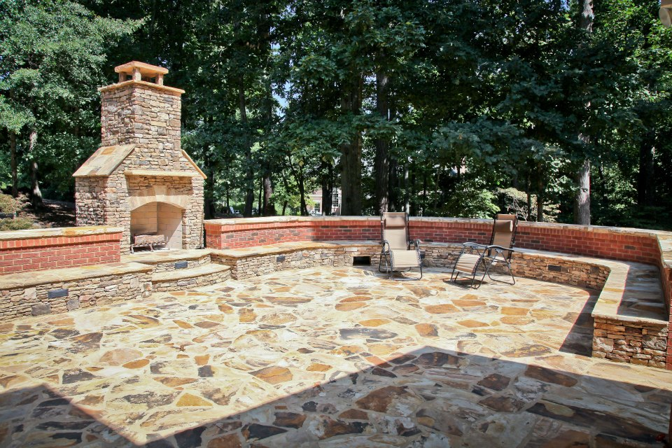 Outdoor Living Space - After; Image - Never the Rock Photography