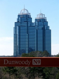 Dunwoody - King and Queen Towers - WikiCommons - Peter Kaminski