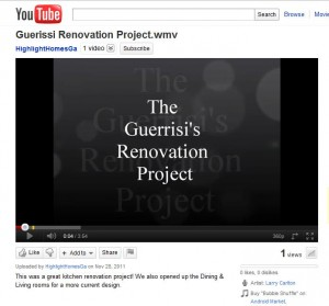 The Guerrisi Renovation is the first of many videos to come from the design/build team at Highlight Homes.