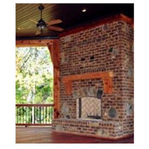 HLH Outdoor Fireplace