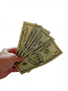 a cash gift