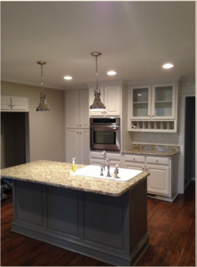 Oak Point Kitchen Renovation - HLH 2013