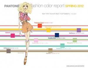 Pantone Fashion Colors - Spring 2012
