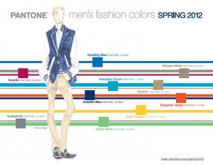 Pantone Fashion Colors (men) - Spring 2012
