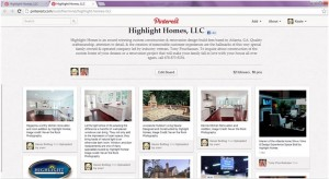 Highlight Homes isn't shy - we LOVE to show off our work on social media sites like Pinterest, while being inspired by the work and ideas of others.