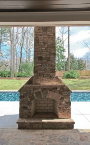 Saybrook Outdoor Hearth and Swimming Pool - HLH