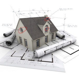 House and plans shutterstock_138681968