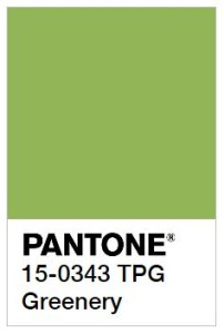 Greenery Color Swatch - Pantone Color of the Year 2017
