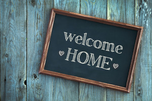 welcome home - shutterstock_216379063
